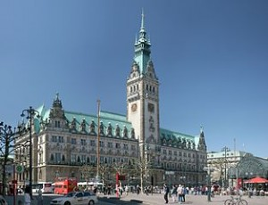 Rathaus Hamburg, Foto: Daniel Schwen