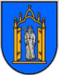 Wappen der Gemeinde Himmelpforten im Landkreis Stade, NIedersachsen, Deutschland