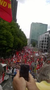 Demo: Grenzenlose Solidarität statt G20 (08.07.2017, Hamburg)